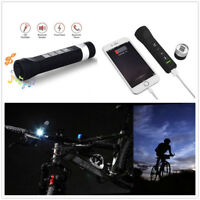 4 In 1 LED Bluetooth Speaker/Torch/Power Bank Support TF Card/Calls/FM Radio