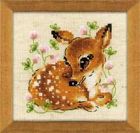 Counted Cross Stitch Kit RIOLIS - Little Deer