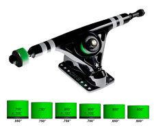 ATTACK 180mm 45Degree Longboard Skateboard Trucks BLACK STAR SERIES RKP Set of 2