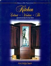 KITCHEN Cabinets Windows Stained Glass Book, Over 340 Designs, Wonderful Book