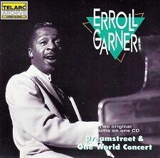ERROLL GARNER : DREAMSTREET + ONE WORLD CONCERT / CD - NEU