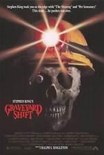 Graveyard Shift - original DS movie poster - D/S 27x40 - 1990 Stephen King