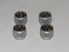 NEW GENUINE VW GOLF BEETLE PHAETON ANODISED ALUMINIUM VALVE CAP SET 000071215A