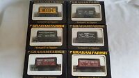 GRAHAM FARISH WAGON 00 GAUGE PRIVATE OWNER WAGON YOU CHOOSE PAY JUST ONE POSTAGE