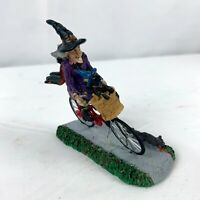 Lemax Spooky Town Be-Witching Bike Ride 32109 Halloween Village Accessory HTF