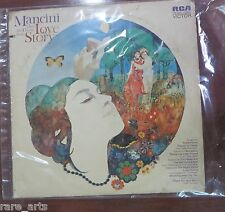 """Mancini PlaysThe Theme From Love story 12""""LP Vinyl Music Record RCA Victor 4466"""