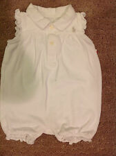 Ralph Lauren One-piece Outfit White Size 6 Months