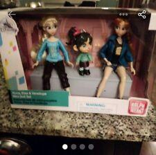 Anna Elsa Vanellope Doll Disney Barbie Mattel Wreck it like Ralph Princess