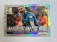2014 Panini Prizm World Cup Soccer KARIM BENZEMA Net Finders France #10