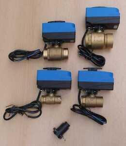 Motorkugelhahn EMV110  2 Wege Trinkwasser DVGW zug.  / SCA Adapter Clip