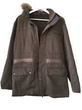 Corneliani CC Collection Mens Fur Hooded jacket  50