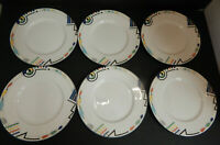 Mikasa Ultima+ Headline Super Strong Fine China six Salad Plates 8-1/2""