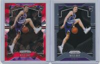 2019-20 PANINI PRIZM - KYLE GUY -(2) CARD RC / ROOKIE LOT - RED ICE PRIZM + BASE