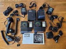 Sunpak Auto 411 Flash Kit w/ Accessories, Ac Adapters, Sensors, Cords, Extras!