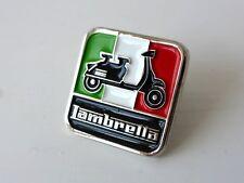 LAMBRETTA Italian Vespa Italy Enamel Metal Pin Badge Great Britain