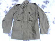 ORIGINAL US army ISSUE M65 M 65 FIELD COAT jacket 1975 VIETNAM WAR OG107 M R