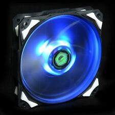 120X25mm PWM Fan With De-vibration Rubber 60CFM Low noise & Big Airflow Blue LED
