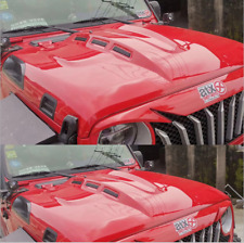 Front Hood For 2019 2020 New wrangler JL Gladiator JT Modified Hood