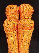 Nr.32 Polypropylenseil,Flechtleine,Spannseil,Rope,Expanderseil 12 mm,30m,Orange