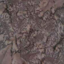 100/% algodón 1895 Acuarela-Marrón Moca Hoffman de Tela de batik