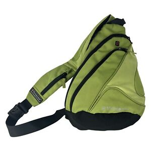 VICTORINOX Sling Bag Backpack Cross Body Shoulder Man-Bag Green