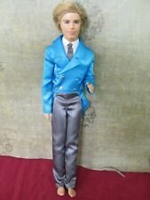 Barbie Prom King Ken in blue outfit