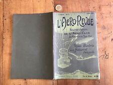 l aero revue numéro 7 1907