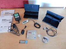 Sony MZ-NH1 minidisc complete with battery, docking station and remote control.
