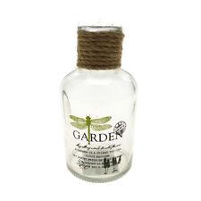 Garden Glass Bottle, 4-1/2-Inch