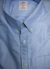 New Brooks Brothers Blue Oxford BD Collar Shirt  NWOT Slim Fit ~ USA XS