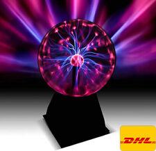 DHL PLASMAKUGEL 6 Zoll Retro Plasmaball Deko Lichteffekt Plasma Lampe Leuchte