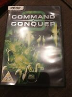 Command & Conquer 3 Tiberium Wars Kane Edition PC DVD Video Game with Manual