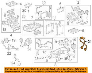 Chevrolet GM OEM 12-18 Sonic 1.8L-L4 Evaporator Heater-Control Cable 95476706