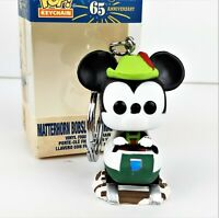 Funko Disneyland 65th Anniversary Pocket Pop Mickey Mouse Bobsled Vinyl Keychain