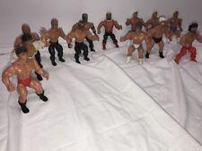 Vintage AWA Remco Wrestling Figure Lot of 13 Wrestlers Figures WWE Mat Mania