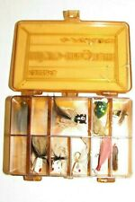 PLANO MICRO-MAGNUM 3214 TACKLE BOX WITH FLY FISHING LURES