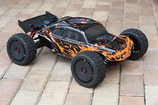 Custom Bug Body Muddy Orange for ARRMA 1/8 TALION 6S BLX Brushless Truggy