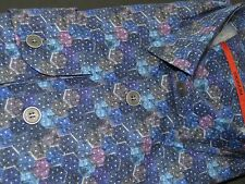SIGNUM Hemd Comfort   Gr. L   Langarm   NEU  schwarz weiß blau weinrot     150.5