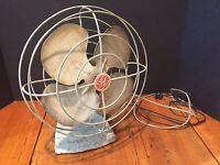 Antique Vintage GE General Electric Oscillating Fan