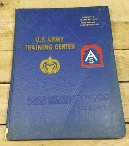 US Army Training Center Fort Leonard Wood Missouri November 12 1971 Year Book