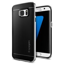 Spigen Backcover Neo Hybrid Samsung Galaxy S7 Edge Silber Handyschutzhülle