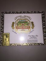 LOT of FOUR (4)   Arturo Fuente DOUBLE CHATEAU FUENTE Wooden Cigar Box Humidors