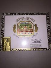 Arturo Fuente DOUBLE CHATEAU FUENTE Wooden Cigar Box Humidor Flip Top Lid