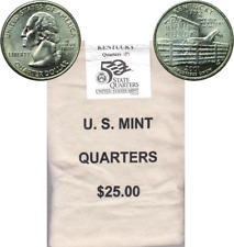 2001 P Kentucky $25 Dollar Face Statehood Quarter Mint Sewn Bag