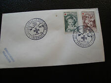 FRANCE - 2 enveloppes 27 28/4/1963 (croix-rouge) (cy57) french (Z)