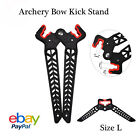 Compound Bow Stand Adjustable Length Limb Bow Holder Kickstand Bow Support