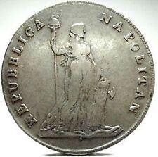 """NAPOLI-Campania (Repubblica 1799) 12 Carlini-""""NAPOLITAN""""-RR."""
