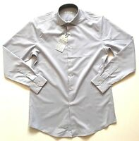 NWT Perry Ellis Portfolio Travel Luxe Tech Dress Shirt Light Purple, 17 x 32/33