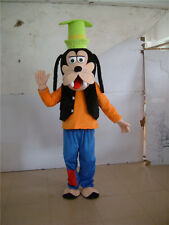 Unisex Goofy Dog Costume Mascot Cartoon Cosplay Outfit New Dress Halloween Party