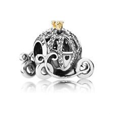 Cinderella Disney Princess Pumpkin Carriage Coach Pandora Silver S925 Ale Charm